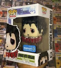 Funko POP! Edward Scissorhands Exclusive #984 Edward with Kirigami In Hand!!