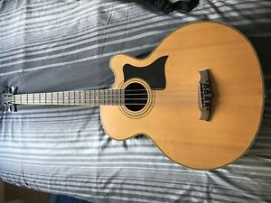 Tanglewood TW155A Super-Jumbo Electric Acoustic Bass Guitar