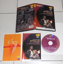 Dvd Giuseppe Verdi OTELLO James Levine Placido Domingo Renée Fleming