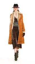 DONNA KARAN DKNY $3000 French Lamb Shearling COAT Jacket Italy