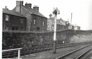 Rail Photo LNWR Starter Signal Penrith station Cumbria Carlisle Tebay LMS