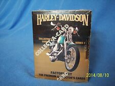 Harley-Davidson Motorcycles Collector's Cards Series 2 Sealed Chopper Hawg HOG