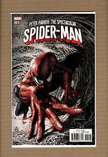 Peter Parker Spectacular Spider-Man #1 Deodato Variant Marvel Comics 2017 NM+
