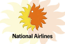 "National Airlines Logo 3.25""x2.25"" Collectibles Fridge Magnet (LM14062)"