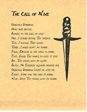 Book of Shadows Spell Pages ** Call of Nine ** Wicca Witchcraft BOS