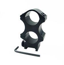 Heavy duty double 25,4 mm de haut ring 20mm weaver picatinny rail mount laser portée