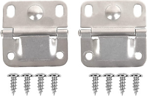 Cooler Stainless Steel Hinge And Screw Set of 2 NEW
