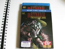 Batman: The Killing Joke (Blu-ray/DVD, 2016, used