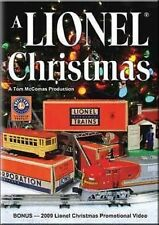 A Lionel Christmas 1 DVD NEW TM Trains Music Ships Fast