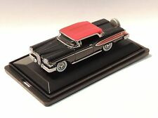 1958 EDSEL CITATION - HO SCALE - OXFORD DIECAST #ED58001 - BLACK/RED