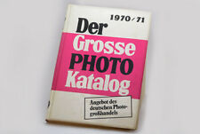 Der grosse Photokatalog 1970/71, Angebot deutscher Fotohandel GFW-Düsseldorf