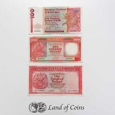 More details for hong kong: 3 x 100 hong kong dollar banknotes.