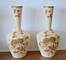 Pair of Crown Devon SF & Co Royal Windsor vases
