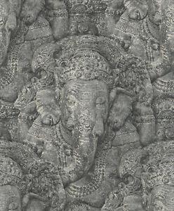 Rasch Tapete Crispy Paper 525502 / Elefant / Yoga / Buddha Tapete / EUR 2,15/qm