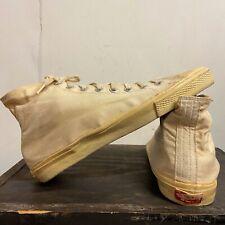 Vtg 1976 Off The Wall Vans Made In Usa Men Sz 10.5 11 1970's Rare Nos Skate High