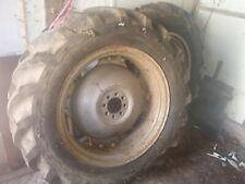 Massey Ferguson 35 135 240 Rear Wheels and Tyres 11.2 x 28 Goodyear