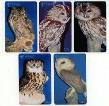 Bird Owl HIBOU total 53 Phonecard 001