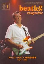 Beatleg Jan/2004 Mag Japan Eric Clapton on Cover Clapton Special