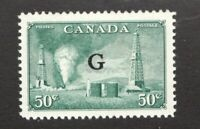 #O24  - Canada -  1950  -  50 Cent - MNH  - VF - superfleas
