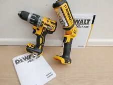 OFFER DEWALT DCD796 18V XR BRUSHLESS HAMMER DRILL BARE UNIT + DCL050 WORKLIGHT