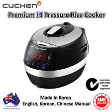 New Cuchen Rice Cooker IH Induction Pressure Multi 6 Cups Korean Made 240V 50Hz