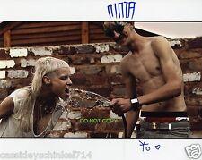 "Die Antwoord duo band Reprint Signed 8x10"" Photo #2 RP Yolandi Visser & Ninja"