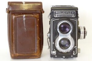 Rolleiflex T Biotic 6x6 With Tessar 75mm F3.5 With Bag IN Excellent Conditions