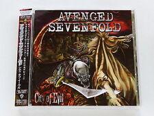 AVENGED SEVENFOLD City Of Evil WPCR-12319 JAPAN CD w/OBI 197az62