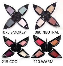 4 x Nuance Salma Hayek Quad Eyeshadow 075 Smokey 080 Neutral Lip 215 Cool Warm
