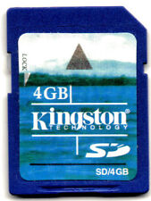 4GB SD Camera Memory Card