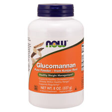 Glucomannan, 100% Pure Powder, 8oz (227g) - NOW Foods