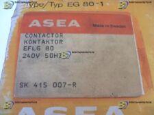 ASEA CONTACTOR EFLG 80-1 240V 50HZ