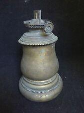 Vintage Brass Kerosene Oil Lamp w/ P & A Mfg Co Burner