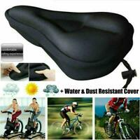 UK Bike Cycle Bicycle Extra Gel Pad Cushion Cover For Saddle Seat Comfy Sport