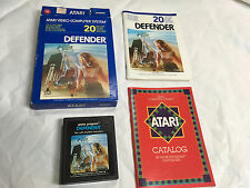 ATARI 2600 7800 GAME DEFENDER 1981 Complete in BOX 5- Multi Languages & Manual