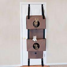 Hanging Cat Condo Furniture Tree Fun Funhouse Home Windows Kitty Easy Install 3