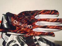 NWT Adidas Adizero 5 Star 4.0 FLAMES Men's Size XL Football Gloves Af0629