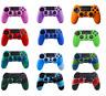 PS4 Controller Skin, Retrodog Protective 2-color Silicone Rubber Case Cover Grip