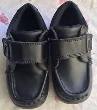 Boys MotherCare Shoes Black Size UK 8 Infant  Excellent Condition