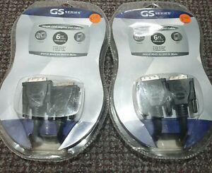 GS Series DVI Duel And Single Line Cable 1.8m😮😮😮