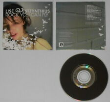 Lise Westzynthius - Rock, You Can Fly - U.K. promo cd card cover