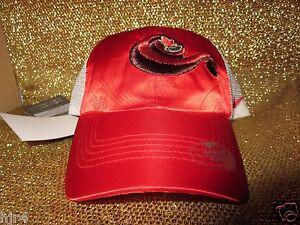 Team Canada Hockey Bauer Nike Olympics Red Hat Cap Womens Ladies New