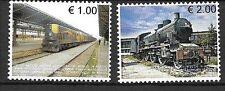 KOSOVO Sc 90-91 NH issue of 2007 - TRAINS