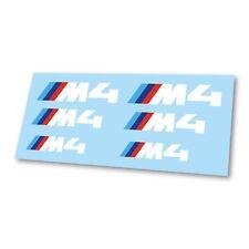 x6 BMW M Sport M4 Competition Logo Badge Hi Temp Brake Caliper Stickers Decals