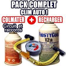 Pack Complet Anti Fuites circuit et recharge 12a climatisation automobile R134a