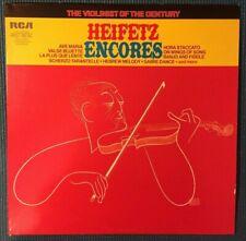 RCA LSC 3232 (e) Heifetz Encores LP Vinyl Red Seal Violinist