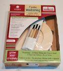 Walnut Hollow Creative WoodCarving Craft Kit tools manual wood NEW 28310