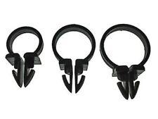 "1//2/"" 5//8/"" 3//4/"" black nylon wiring tubing clamps 18 pcs   Studebaker"
