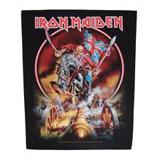IRON MAIDEN official Backpatch  MAIDEN ENGLAND  Rückenaufnäher Heavy Metal Eddie