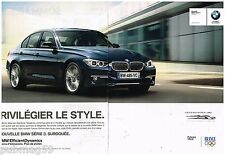 Publicité Advertising 2012 (2 pages) BMW Serie 3